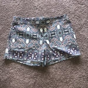 Size 10 Paisley Shorts from Express